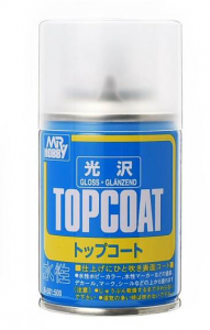MR. TOP COAT GLOSS SPRAY  - TRASPARENTE LUCIDO