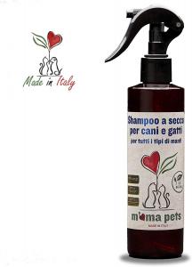 Shampoo secco per cani e gatti M'ma Pets