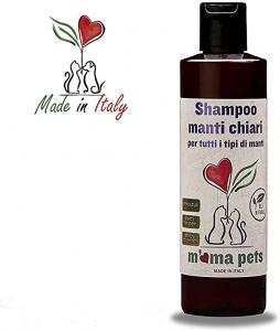 M'ma pets shampoo manti chiari per cani e gatti