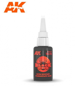 colla cianoacrilica BLACK WIDOW 20gr.