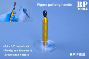 Figure paiting handle with acrylic basement