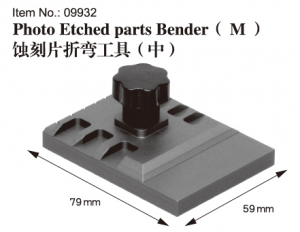 Photo Etched parts Bender(M)