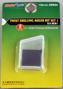 Twist drilling Auger Bit - set 1