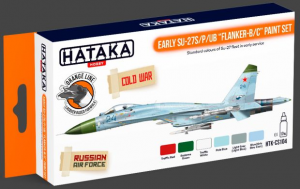 "Early Su-27S/P/UB ""Flanker-B/C"" paint set"