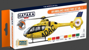 Air Ambulance (HEMS) paint set vol. 1