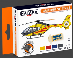 Air Ambulance (HEMS) paint set vol. 2