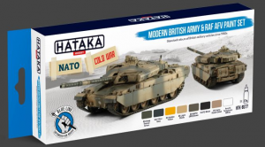 Modern British Army & RAF AFV paint set