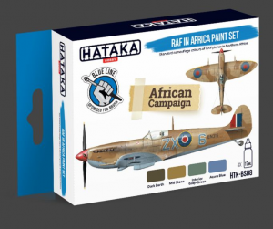 RAF in Africa paint set
