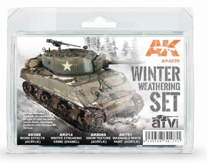 WINTER WEATHERING SET