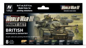 WWIII British Armour & Infantry