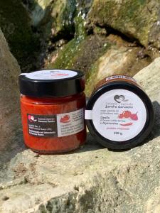 SUGO PRONTO con Pomodoro e Cipolla di Cavasso e della Val Cosa e Peperoncino