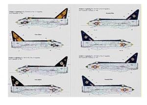 BAC/EE Lightning F.1A/F.2 (5) F.1A XM174/D 56