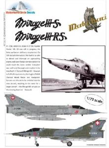 Dassault Mirage IIIS & IIIRS