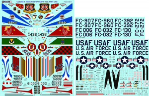 F-102 Colors & Markings