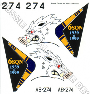 F-111G 6 Sqn RAAF (Tail Art)