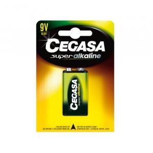 Cegasa Super Alkaline Battery 9v 6LR61
