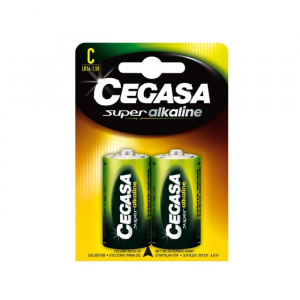Cegasa Super Alkaline Battery 1,5v LR14 2 Units