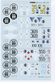 Italian WW2 Aces Part 2 decal sheet