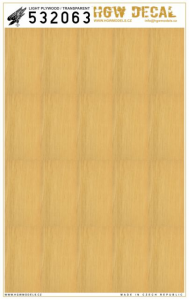 Light Plywood - Transparent