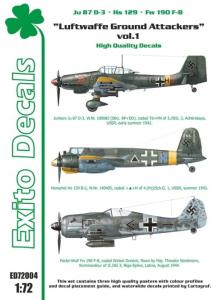 Luftwaffe Ground Attackers vol.1