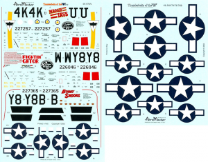 P-47 THUNDERBOLTS OF THE 404,