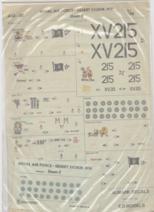 ROYAL AIR FORCE-DESERT STORM 1991