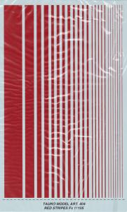 RED STRIPES Fs 11105
