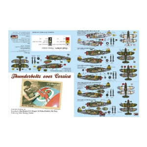 THUNDERBOLTS OVER CORSICA (6X CAMO SCHEMES)