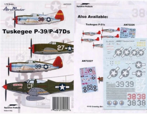 TUSKEGEE P-39/P-47DS