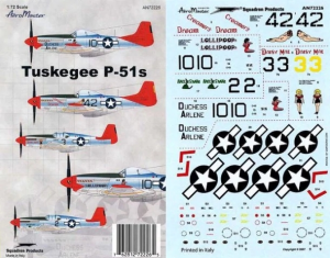 TUSKEGEE P-51S