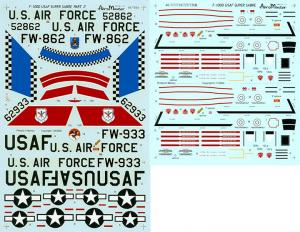 USAF SUPER SABRES, PT II