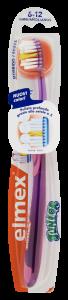 Spazzolino Elmex® Junior 6-12 Anni con speciali setole disposte a X