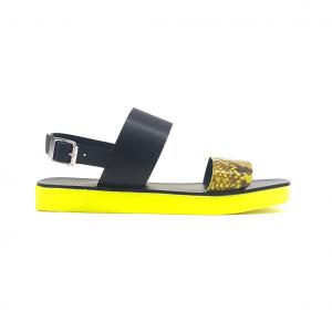 Sandalo nero/fluo Apepazza