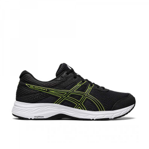 Asics Gel Contend 6 Graphite Grey Lime da Uomo