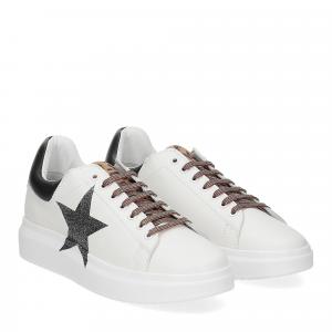 Nira Rubens Angel ALST30 sneaker stella leo black glitter