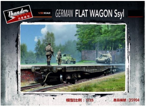 German Ssyl Flat Wagon