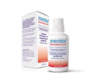 Collutorio Meridol® Clorexidina 0.2%