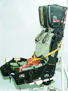 F-18 HORNET EJECTION SEATS