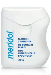 Filo Interdentale Meridol® Spugnoso Cerato 40m