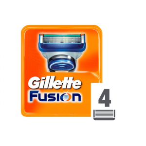 Gillete Fusion Manual Blades 4 Units