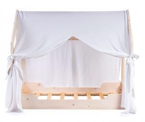 Lettino a Casetta in legno con Velo linea Liberty Star by Picci