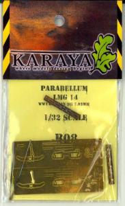 PARABELLUM LMG 14/17 WW1 GERMAN MG 7.92MM