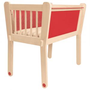 Culla rossa con protezione elettromagnetica - Albero Bambino
