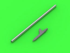 US WWII Pitot Tube Shark-fin type probe