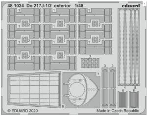 Do217J-1/2 Exterior
