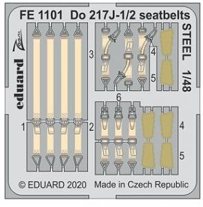 Do217J-1/2 Seatbelts Steel