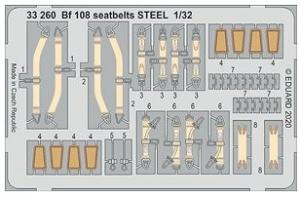Me108 Seatbelts Steel