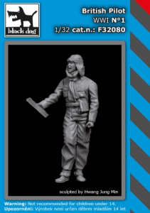 British pilot WWI No.1 (1 fig.)