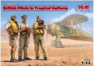 British Pilots in Tropical Uniform (1939-1943)