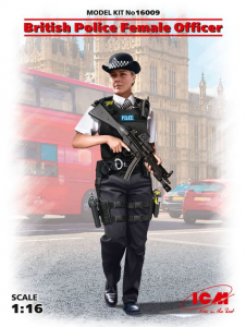 British Police Female Officer